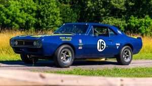 This Camaro race car is expected to fetch seven digits at Monterey