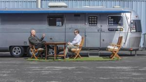 Tom Hanks is selling his Airstream trailer and Toyota FJ40 Land Cruiser