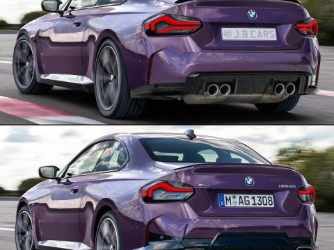 G87 BMW M2 gets rendered based on new M240i Coupe
