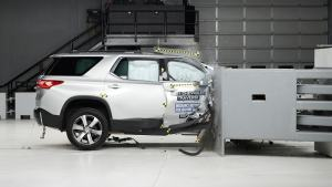 2021 Chevy Traverse earns IIHS Top Safety Pick after new crash test is performed