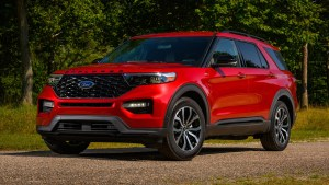 2022 Ford Explorer ST gets rear-wheel drive, ST-Line gets looks