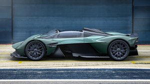 Aston Martin Valkyrie Spider loses roof, swaps doors, keeps the speed