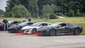 Chevrolet Corvette E-Ray now rumored with around 650 hp
