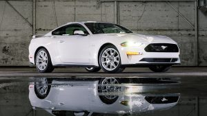 Ford Mustang Ice White Appearance Package is a Fox-body throwback