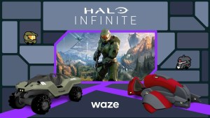 'Halo' protagonist Master Chief can give you driving directions via Waze