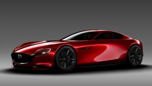 Mazda sports coupe development revealed in patent filings
