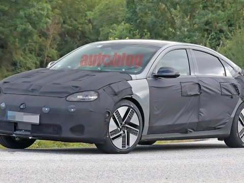 Hyundai Ioniq 6 caught in spy photos looking ready for production