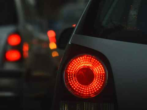 Tail lights mostly working? Good enough, court says, ruling against traffic stop