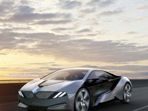 Futuristic BMW electric car is a combination of i8 and i Vision Circular
