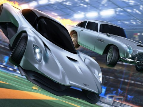 James Bond's latest Aston Martin is coming to 'Rocket League'