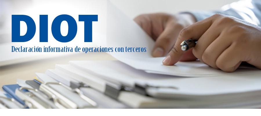 Declaración De Operaciones Diot 2019 Nueva Versión De La