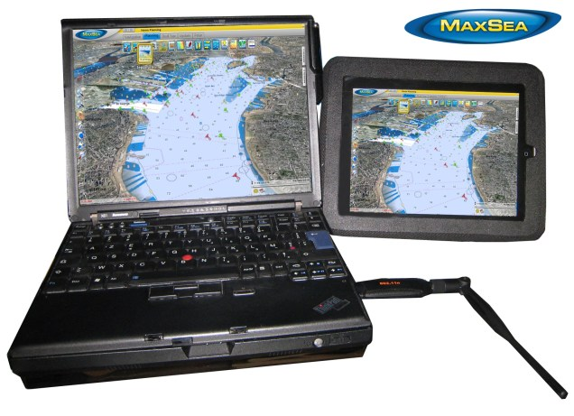 How to use MaxSea TimeZero on your iPad 3