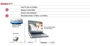 PC Radar MaxSea - Furuno FR