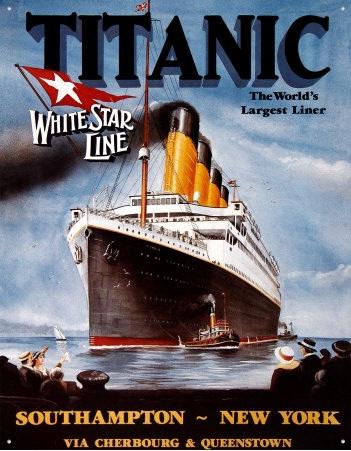 Titanic Ad Poster