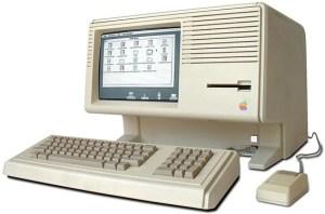 Macintosh Lisa used for development