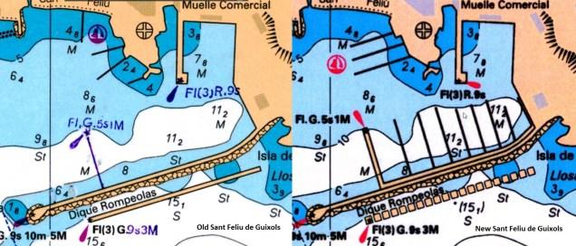 Old-new Mediterranean Sea - West chart (WRMEM32MAP3.1)