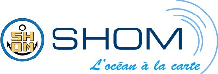 SHOM logo - French Hydrographic Office