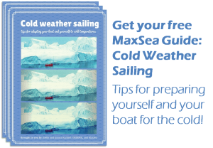 Download the free MaxSea guide: Cold Weather Sailing