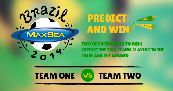 MaxSea Predict and Win World Cup Contest
