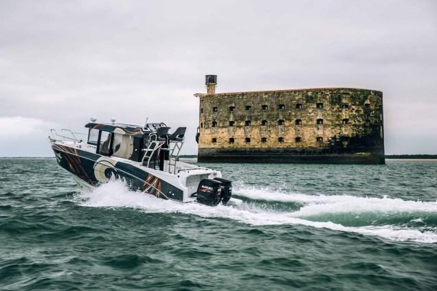 Barracuda Tour fort boyard