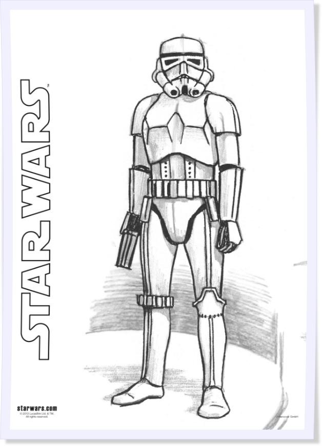 Kostenlose Malvorlagen zum Star Wars-Tag myToys-Blog