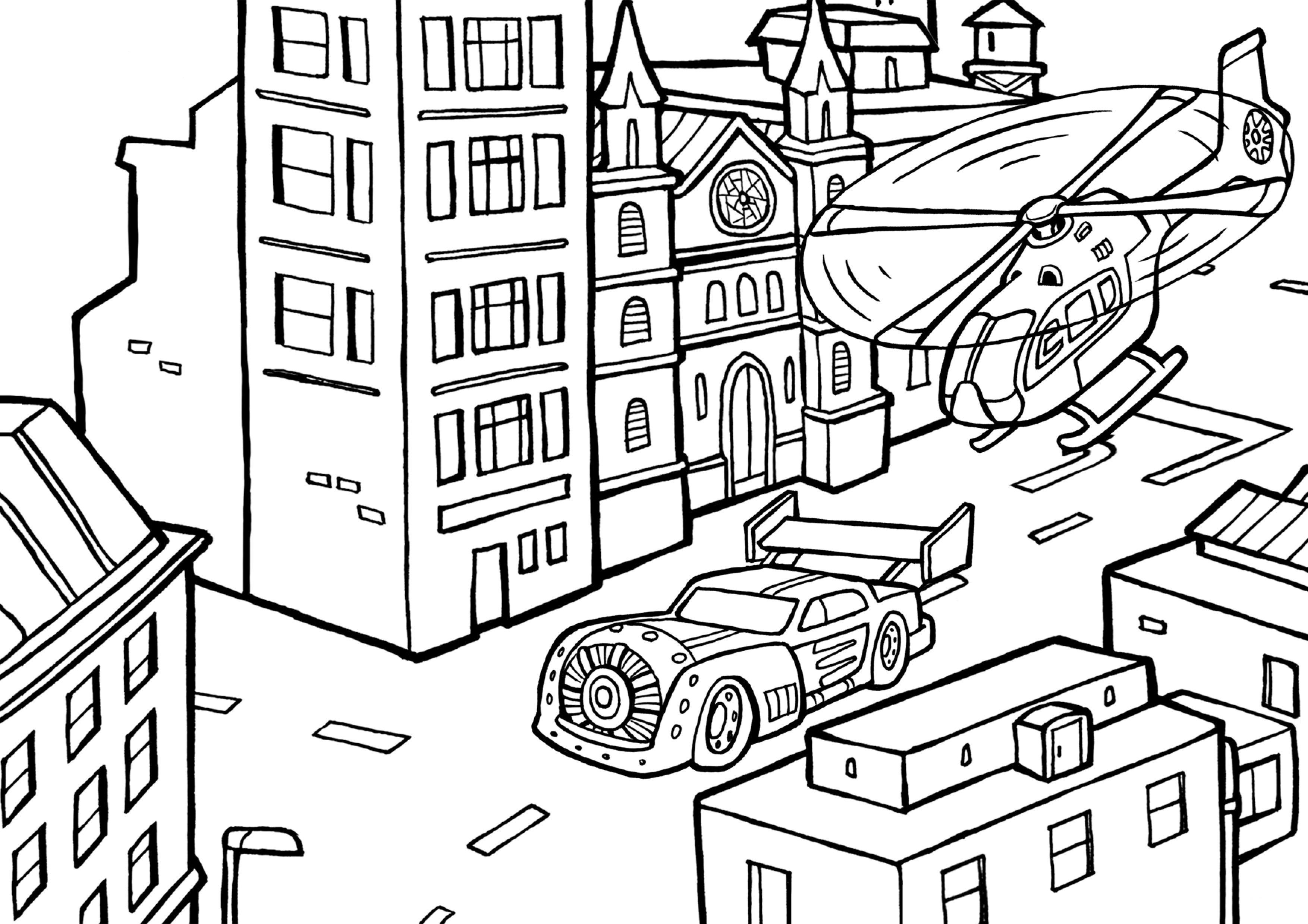 Malvorlagen Autos - kostenlose Ausmalbilder myToys Blog