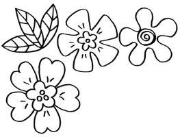 myToys Malvorlagen Blumen Blueten   myToys Blog
