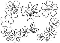 Malvorlagen Blumen - kostenlose Ausmalbilder | myToys Blog