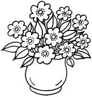 myToys Malvorlagen Blumen Blumenvase   myToys Blog