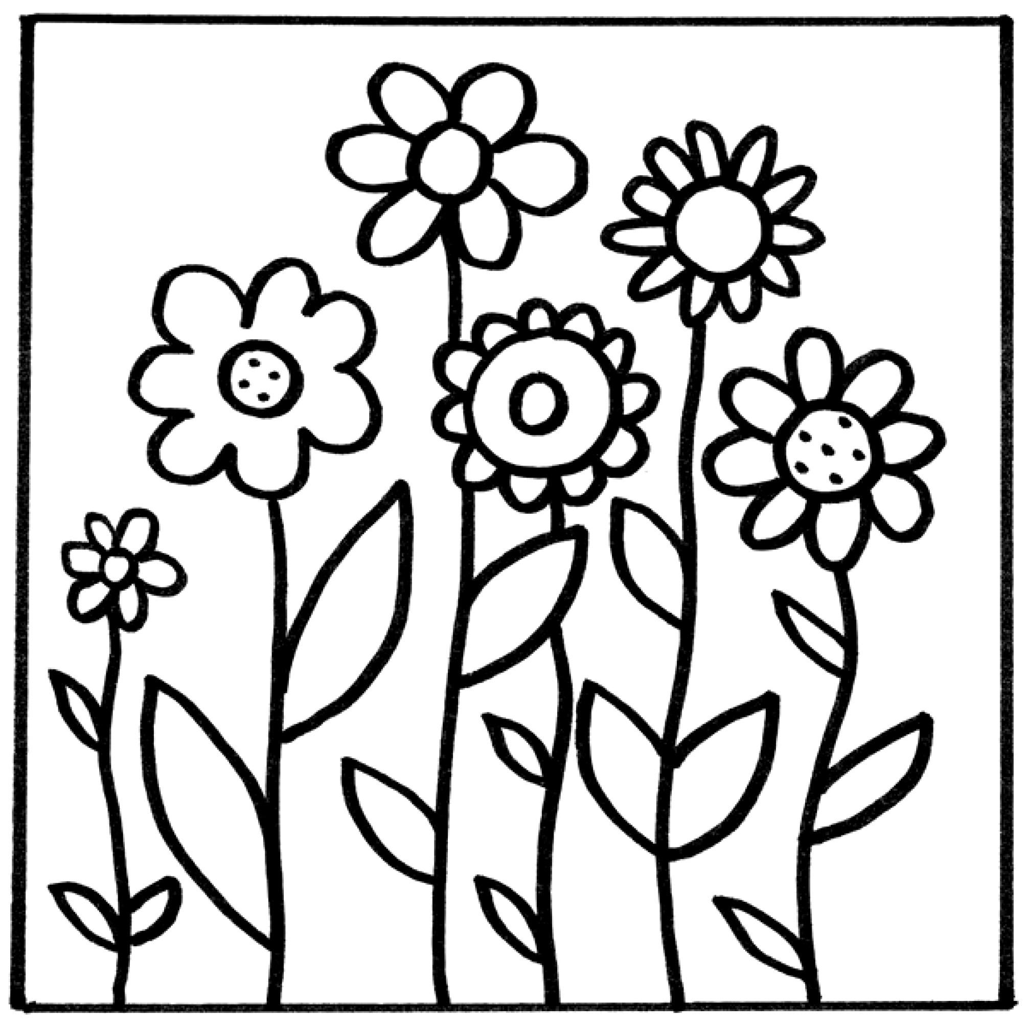 MyToys_Malvorlagen_Blumen_Blumenwiese myToys-Blog