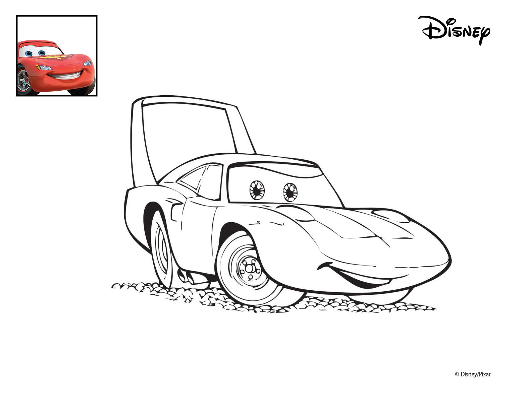 MyToys_Malvorlagen_Disney_Cars_Der-King myToys-Blog