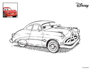 Cars Malvorlagen Hook