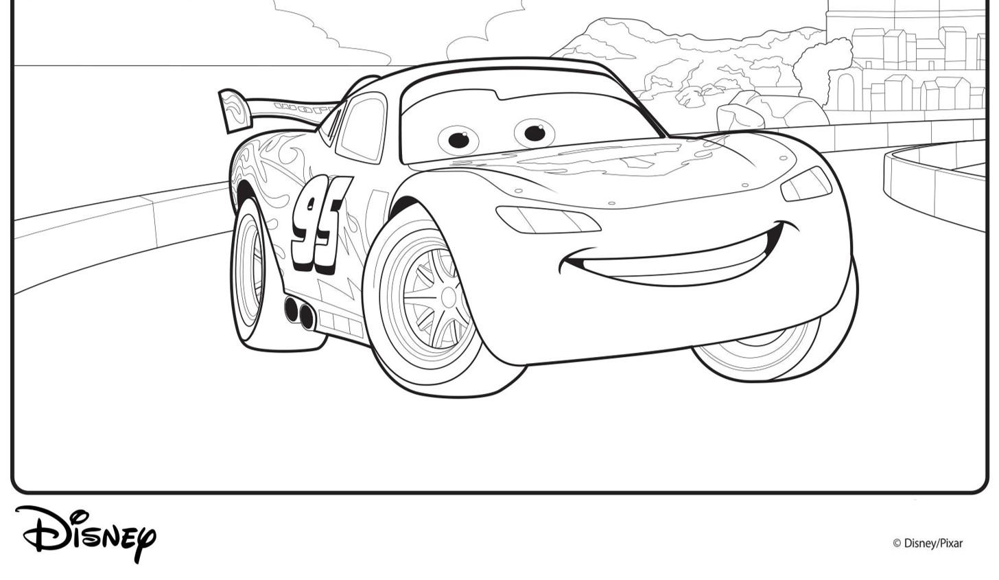 Cars Malvorlagen Lightning Mcqueen Top Kostenlos Färbung