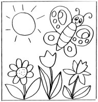 Malvorlagen Blumen   kostenlose Ausmalbilder   myToys Blog