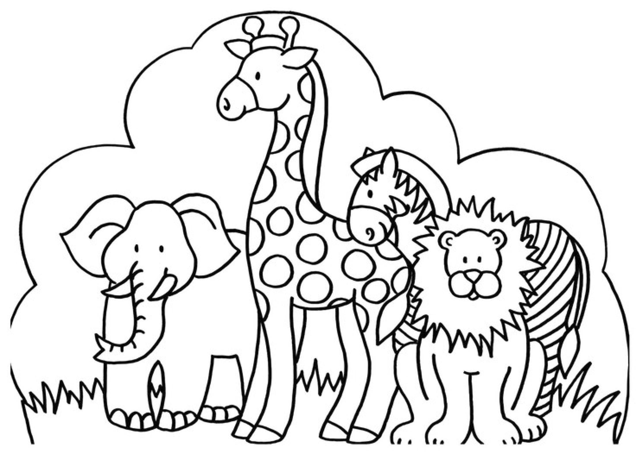 Malvorlagen Tiere - Ausmalbilder zum Ausdrucken myToys Blog