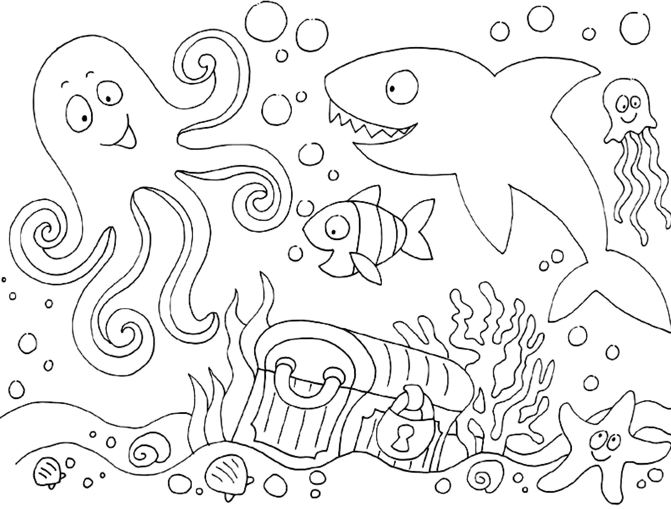 MyToys_Malvorlagen_Tiere_Unterwasserwelt myToys-Blog