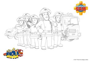 Feuerwehrmann Sam Ausmalbilder   myToys Blog