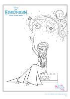 Ausmalbilder Eiskönigin   myToys Blog
