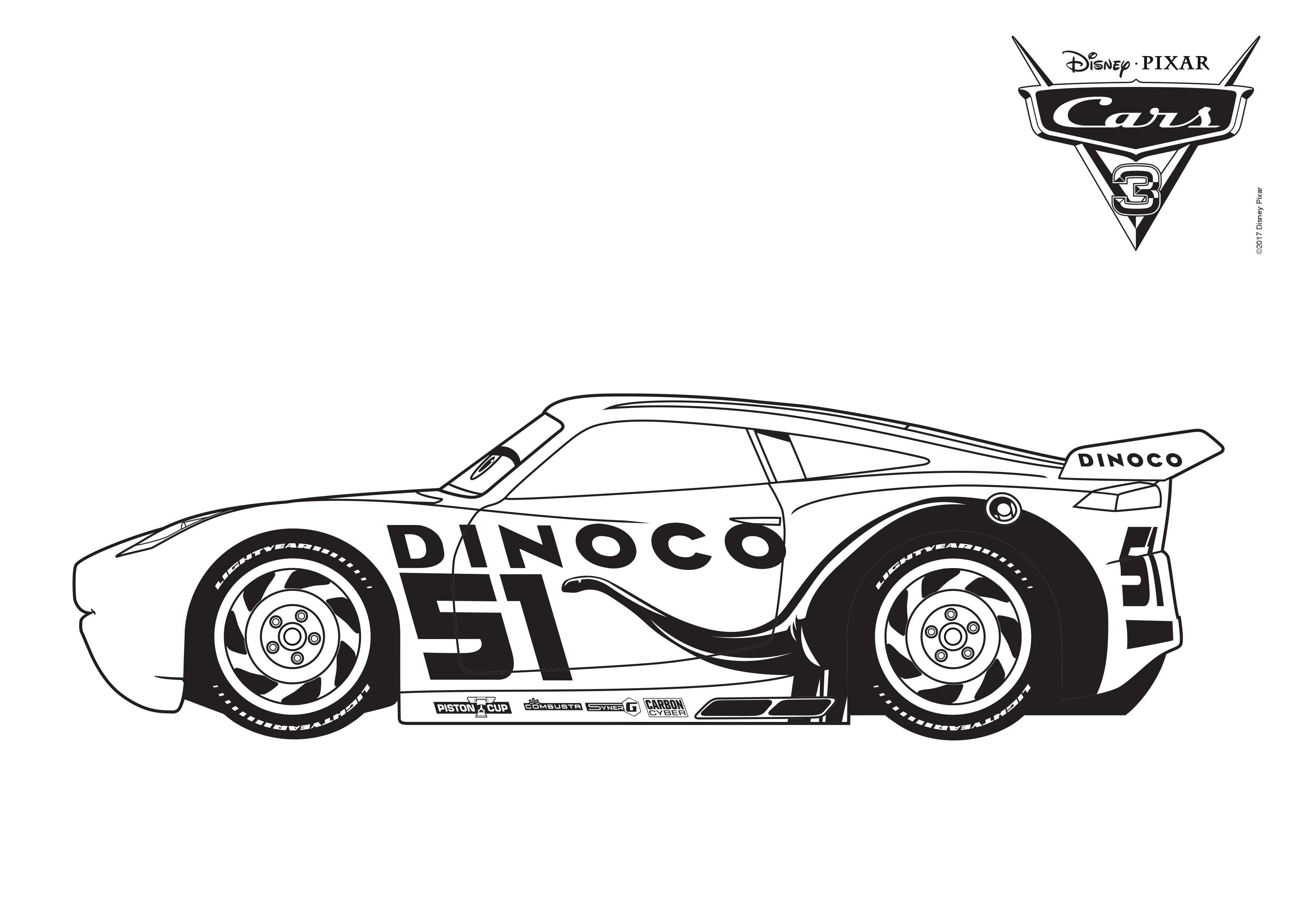 Disney Cars Malvorlagen myToys-Blog
