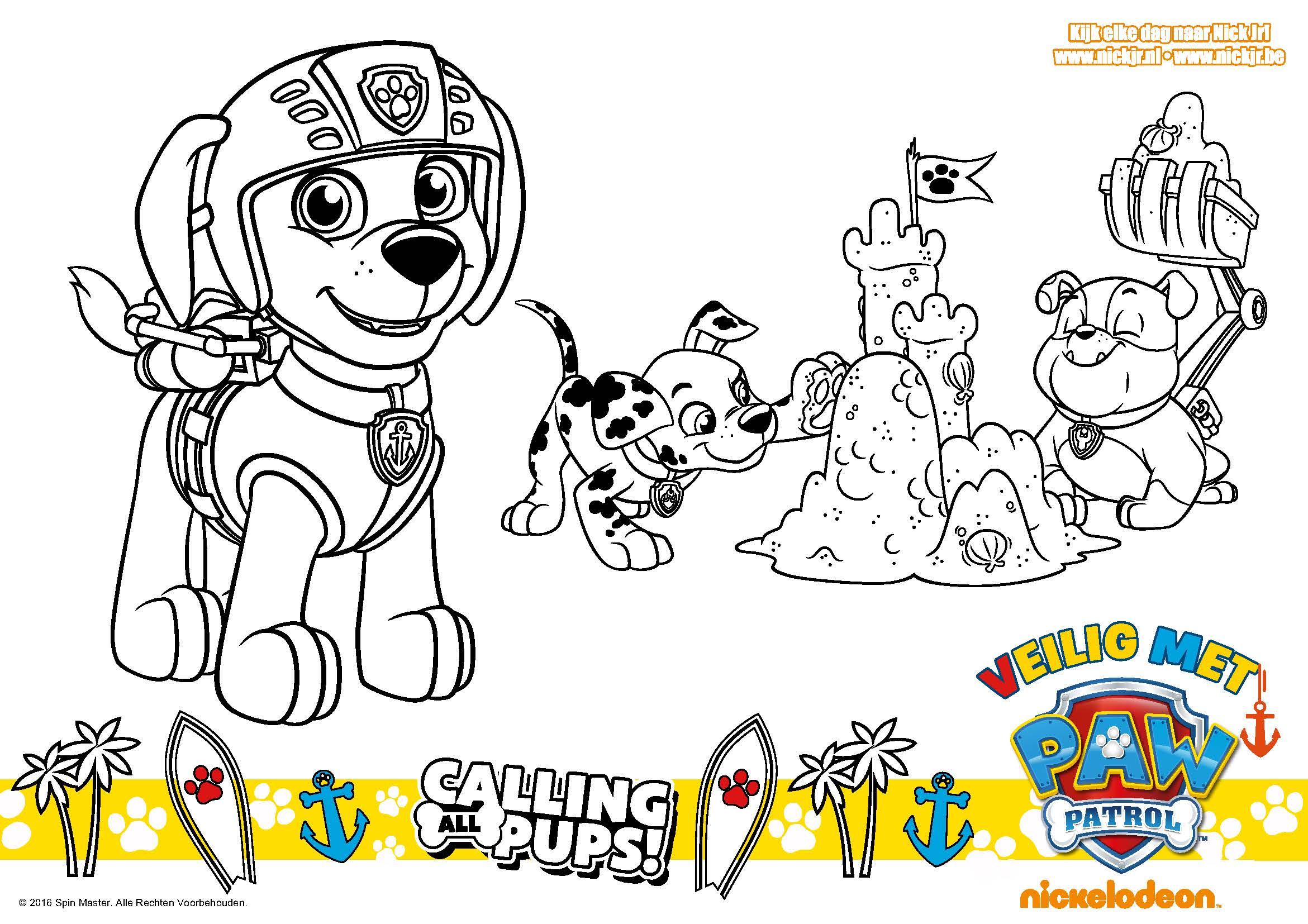 Malvorlage Paw Patrol - Ausmalbilder
