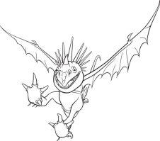 Malvorlagen Drachen Ohnezahn   Kinder Ausmalbilder