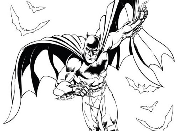 Batman Ausmalbilder myToys-Blog