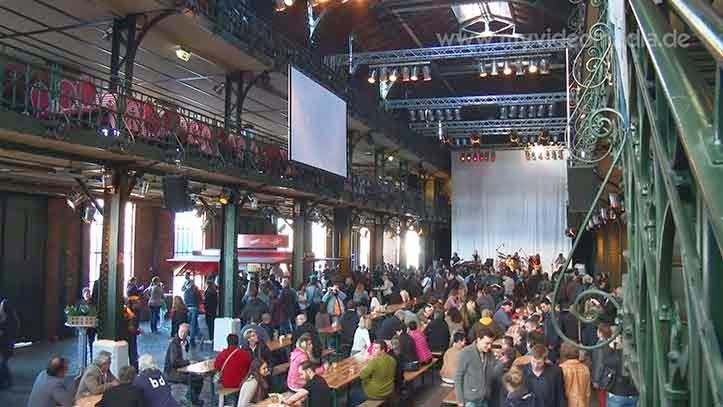 Hamburger Fischmarkt in Altona  Reise Video Blog