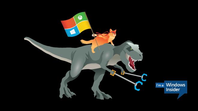 Windows_Insider_Ninjacat_Trex-1600x900