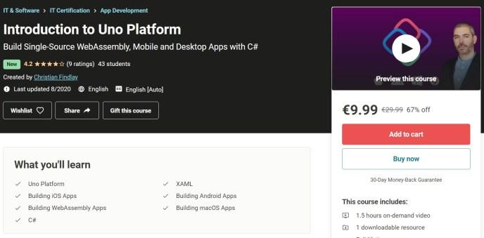 Introduction to Uno Platform