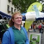 Foto: Monika Kröber - Fabian hatte viel Spaß mit den Ballons