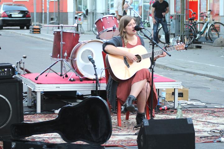 Fête de la Musique 2013 in Rostock mit Kristina Jung
