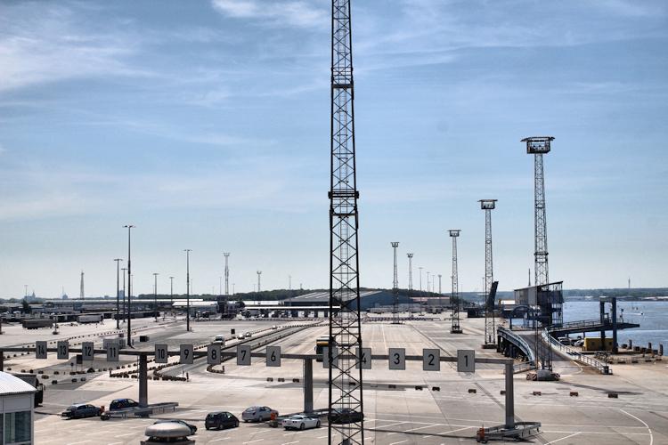 Mit der Fähre von Rostock nach Dänemark 2013