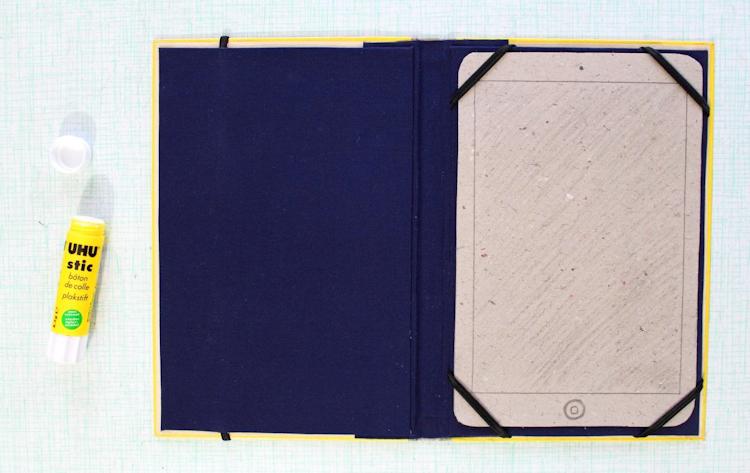 Buch-Hülle für Tablet oder E-Reader {DIY} (13)