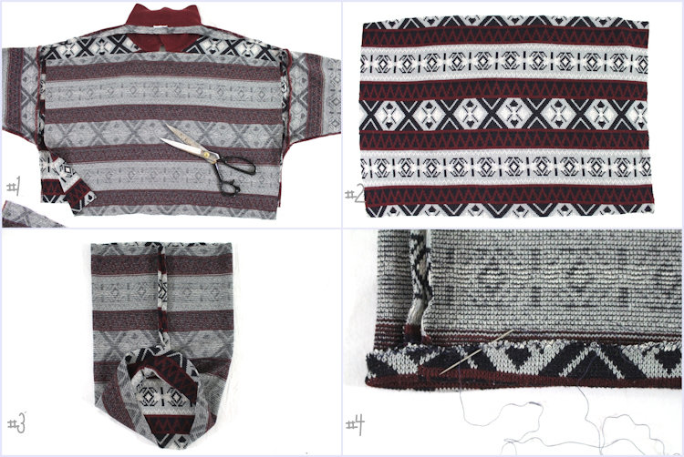 Pullover Upcycling